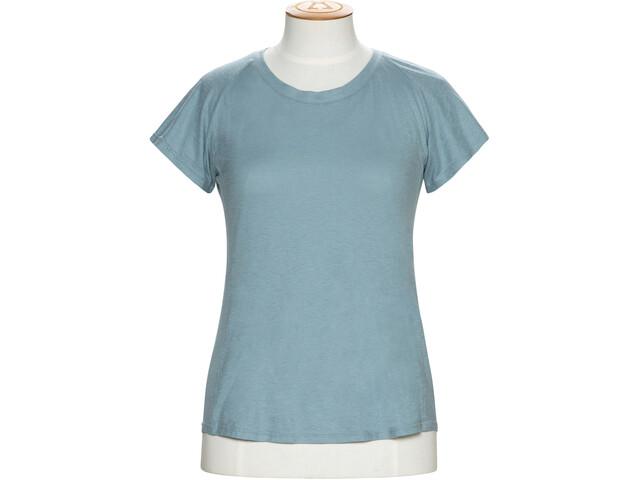 Alchemy Equipment Organic Fitted Bluzka z krótkim rękawem Kobiety, powder blue